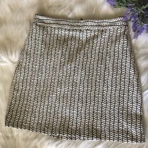 Zara Basic mini skirt, beautiful print